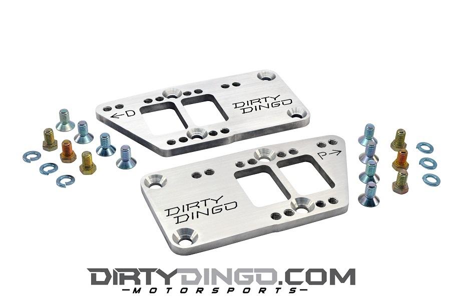 Dirty Dingo Double-D Billet Aluminum LS Conversion Plates