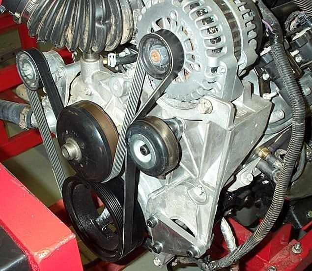 Ls Vortec Truck Ls Idler Pulley Relocation Bracket Lq9 Manual Guide